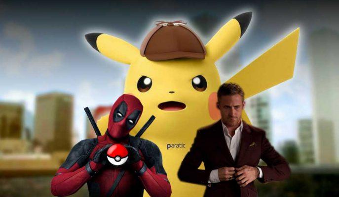 Ryan Reynolds Deadpool'un Ardından Pikachu Oluyor!