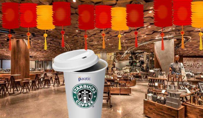 Dünyanın En Büyük Starbucks Şubesi Şangay'da Açıldı!
