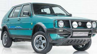 VW Golf MK2 Country 4×4: Dünyada Kalan En Temiz Örneği Satılıyor!