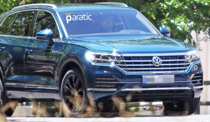 Yeni Kasa VW Touareg'in En Net Görüntüleri Geldi!