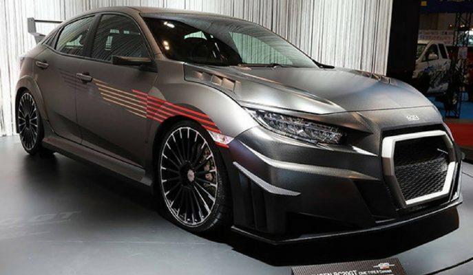 2017 Yeni Honda Civic Type R: Mugen'den Karbon RC20GT Konsept!