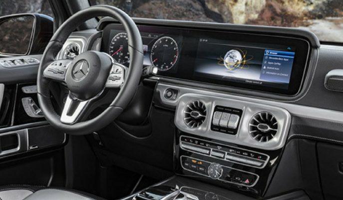 2019 Mercedes G SUV'un İç Görselleri Çıkış Heyecanını Artırdı!