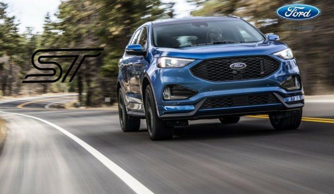 """2019 Yeni Ford Edge 355 Hp'lik """"ST"""" Rozetini Taktı!"""