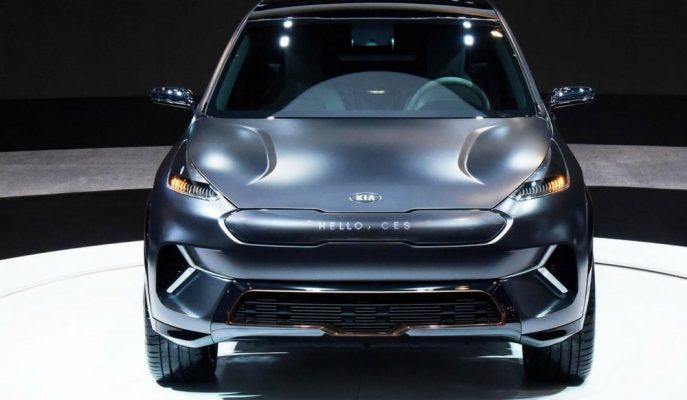 2020 Kia Niro EV CES 2018'de Gösterildi!