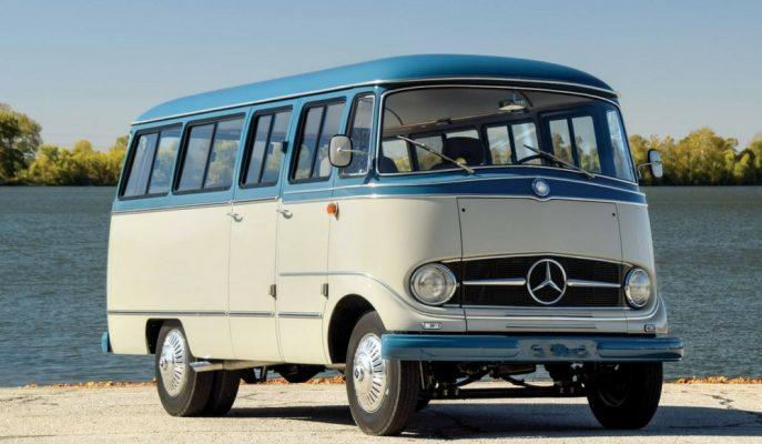 "Açık Artırmada Bu Sefer 1959 Model ""Mercedes – Benz O 319"" Var"
