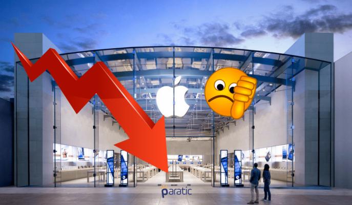 Apple'ın Değeri 1 Günde 22 Milyar Dolar Geriledi