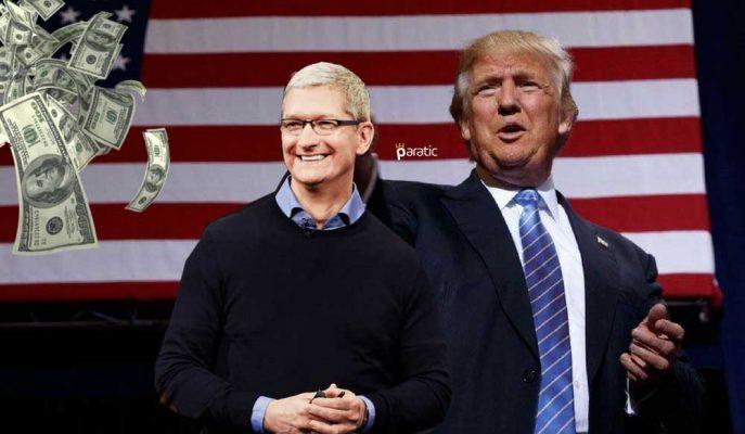 Trump'ın Vergi Reformundan Faydalanacak Apple'dan ABD Ekonomisine Dev Katkı!