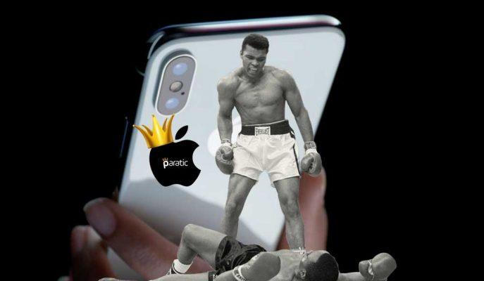 """Apple'dan """"Üretimi Durdurulacak iPhone X""""e Muhammed Ali Temalı Reklam!"""