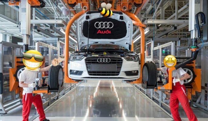 Audi İşçilerinin Fikir ve Referanslarını Dinleyerek Büyük Kar Etti!