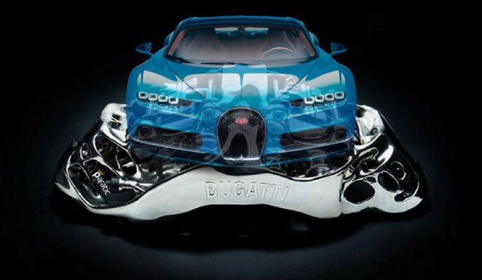 Bugatti Dünyada Bir İlk Olarak Fren Sisteminde Titanyum Alaşım Kullandı