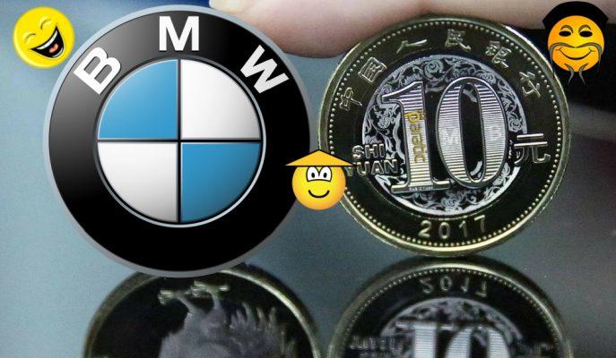 Çin'de Aldığı BMW'nin Peşinatını Bozuk Parayla Verince Ortalık Karıştı!