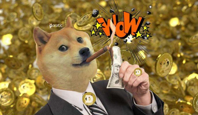 Dogecoin Bu Sefer Bitcoini Şakaladı! 1 Ayda Yüzde 400 Arttı
