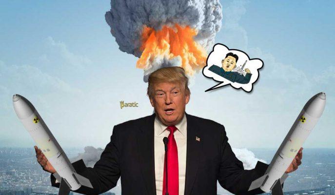 """Trump ile Kim Jong-Un Savaşında Varılan Nokta: """"Düğme Büyüklüğü Kavgası"""""""