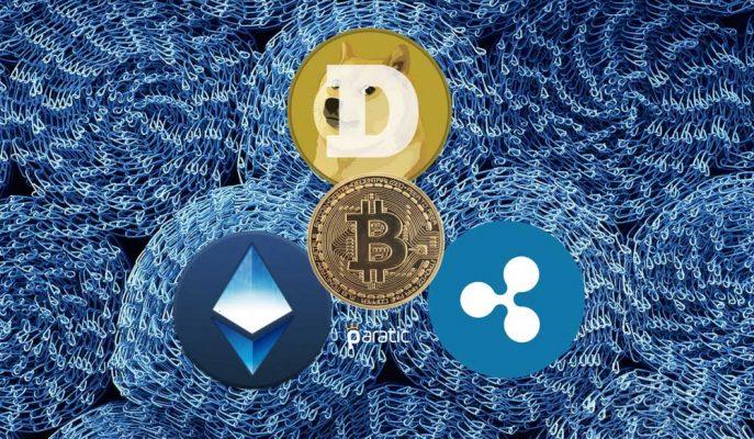 Ethereum ve Dogecoin Başta Olmak Üzere Kripto Paralarda Yükseliş Sürüyor