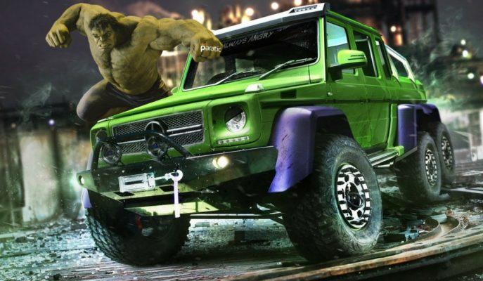 Evrenin Süper Kahramanlarına Uyarlanmış En Heyecanlı Otomobiller!