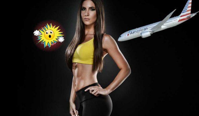 Fenomen Fitness Modeli American Airlines'ın Uçağından Kovuldu!