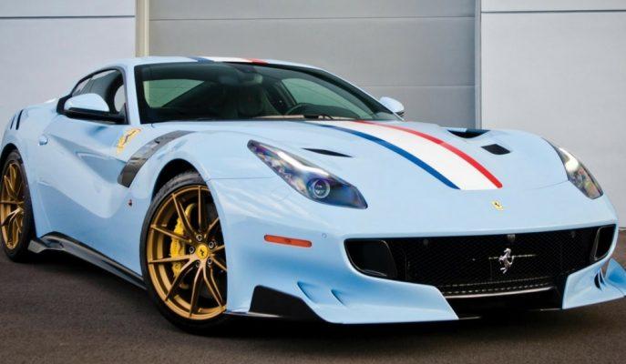 """Ferrari Tarihinin En Çılgın Serisi """"F12tdf France"""" 1.4 Milyon $'a Satılıyor!"""