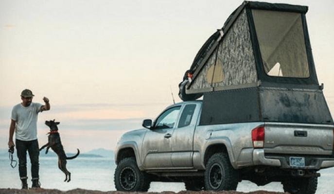 """""""Go-Fast Camper"""" 4×4 Pick-up'ları En Hızlı Şekilde Karavana Dönüştürüyor!"""