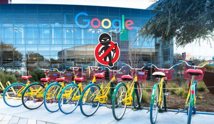 """Google'ın Çalışanlarına Sunduğu Bisikletler """"Yüzer Yüzer"""" Kayboluyor!"""