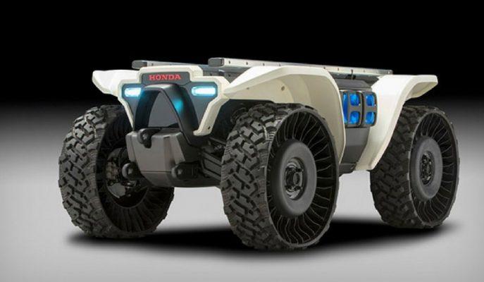 Honda 3E-D18 Mobil ATV: Modüler Yapı ile Sunulan İnanılmaz Yetenekler!