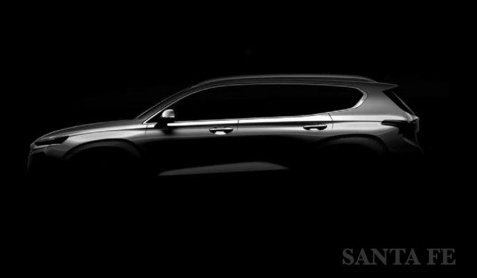 """Hyundai'nin Yenileme Programına Aldığı """"Santa Fe""""nin ilk Profil Detayı!"""
