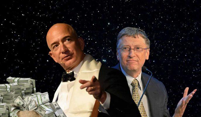 """Jeff Bezos Bill Gates'in Elinden """"Tüm Zamanların En Zengini"""" Unvanını da Aldı!"""