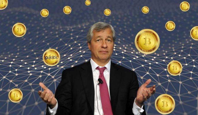"""JP Morgan CEO'su Jamie Dimon'dan Bitcoin Yorumu """"Çok Pişmanım"""""""