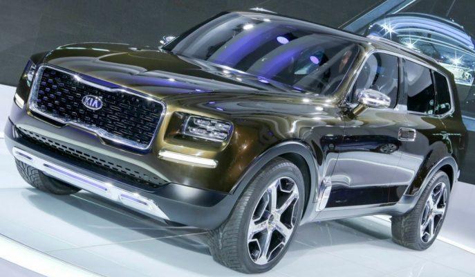KIA Amerika için Telluride SUV'un Üretim Onayını Verdi!