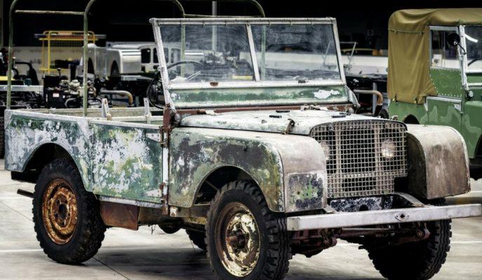 Land Rover'ın ilk 1948 Prototiplerinden Biri Yer Altından Çıkarıldı!