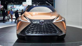 """Lexus LF-1 Limitless SUV ile Geleceğin 4X4'lerine """"Sınırsız"""" Yaklaşım!"""