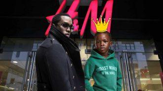 Puff Diddy'den H&M'nin Çocuk Modeline 1 Milyon Dolarlık Anlaşma Teklifi!