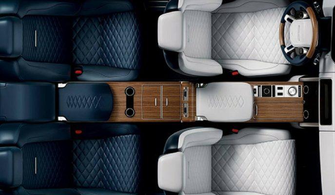 Range Rover'ın İki Kapılı SV SUV Coupe'den Detaylar!