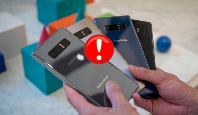 Samsung'dan Galaxy Note 8 Batarya Sorunuyla İlgili Şaşırtıcı Açıklama!