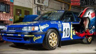 """Subaru Ralli Takım Şampiyonu """"Richard Burns""""ün  Legacy Aracı Satılıyor!"""