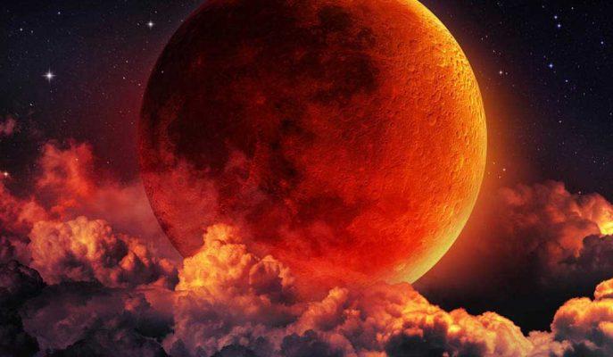 150 Yılda Bir Görülen Doğa Olayı Geldi Çattı: Süper Mavi Kanlı Ay Tutulması!