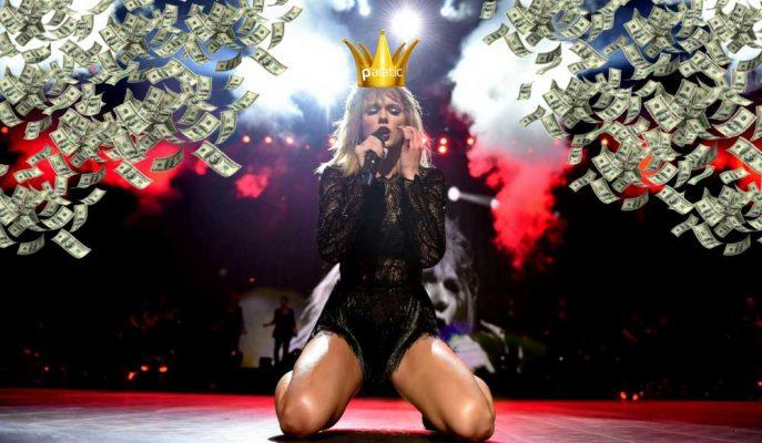 Taylor Swift Çılgınlığının Boyutu 180 Milyon Dolara Ulaştı!