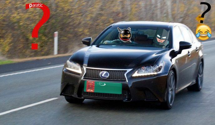"""Türkmenistan'da Onaylanan """"Araç Rengi Kanununa"""" Şaşıracaksınız!"""