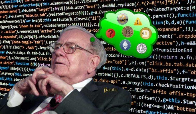 """Warren Buffett'ın Kripto Para Yorumu: """"Sonları Kötü Olacak"""""""