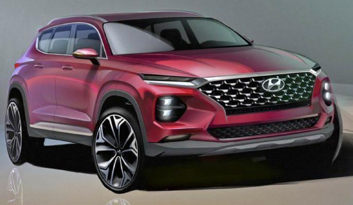 Yeni Kasa Hyundai Santa Fe'nin İlk Digital Görselleri!