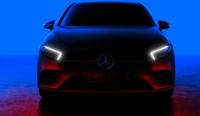 Yeni Kasa Mercedes A Serisi Yüzünü Göstermeye Başladı!