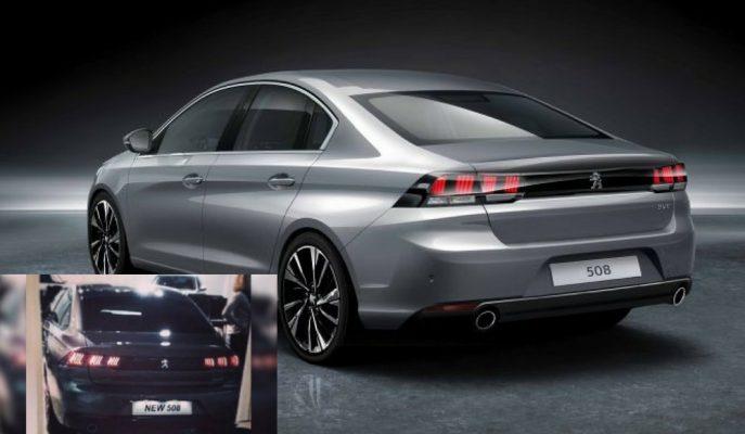 2018 Peugeot 508 Çıkış Kasası Kameralardan Kaçamamış!