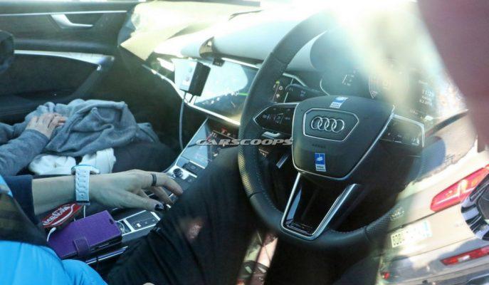 2019 Audi A6'nın İç Mekan Yapısı A7 Odaklı Duruyor!