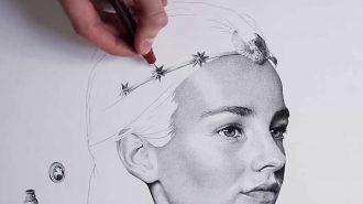 3 Milyon Nokta Kullanılarak Yapılmış El Emeği Göz Nuru Sanat Eseri!