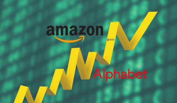 4. Çeyrekte Amazon Hisseleri Artarken Alphabet Beklentileri Karşılayamadı!