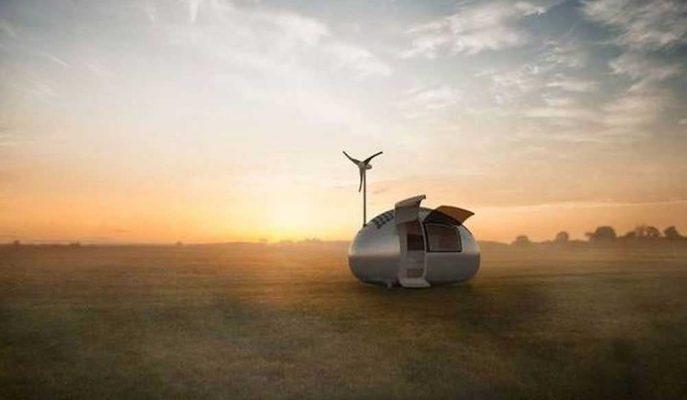 Ömür Boyu Yaşanabilecek Akıllı Karavan Ecocapsule