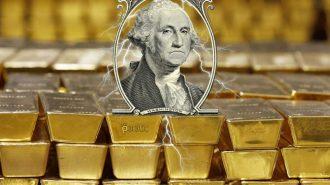 Güçsüz Dolardan Destek Alan Altın 2 Yılın En İyi Haftalık Kazancına Yöneldi