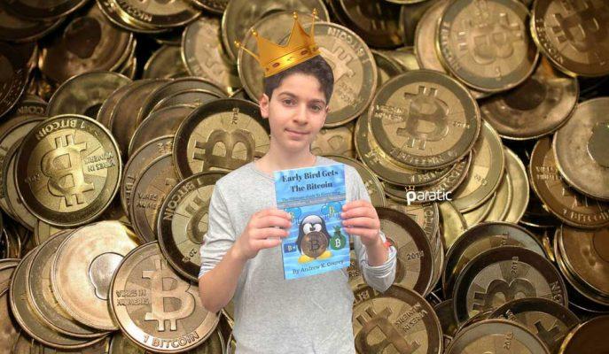 11 Yaşındaki Andrew Courey Bitcoin'in Kitabını Yazdı!