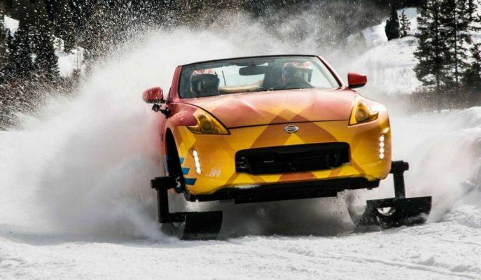 "332 Hp'lik Paletli Spor Otomobil: ""Nissan 370 Z Winter"""