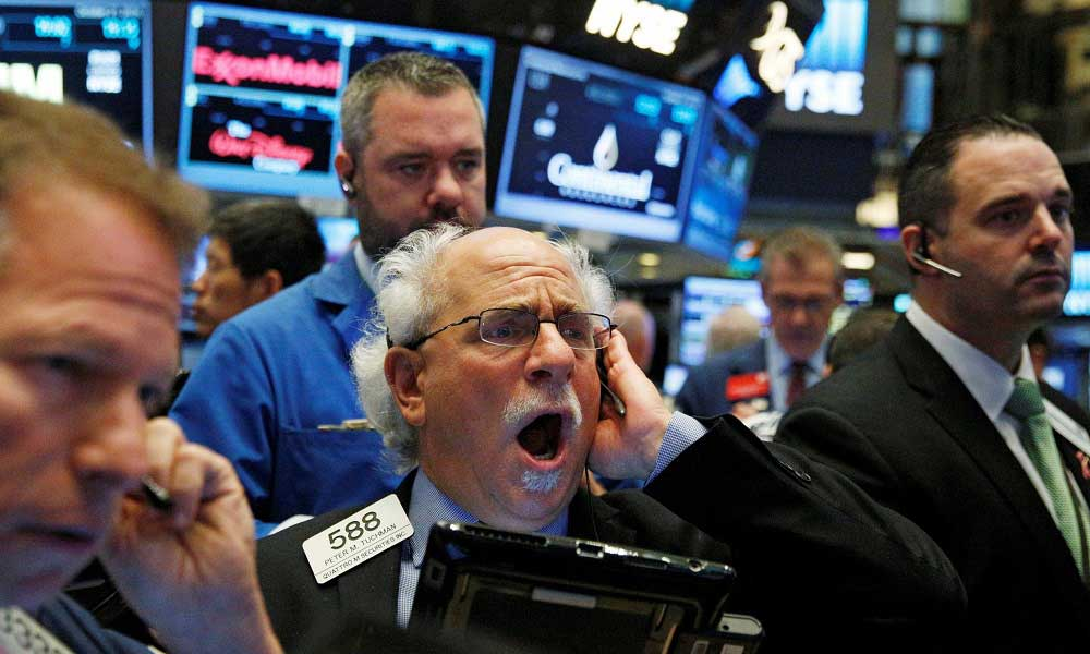 Bitcoin ABD Borsaları ile Düştü