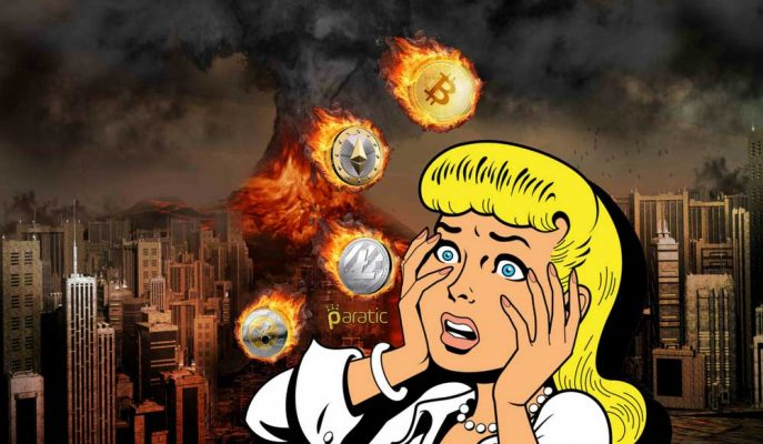 Bitcoin ABD Borsalarında Yaşanan Şokla 6 Bin Dolara İndi!